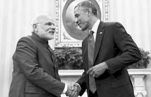 President Barack Obama & Prime Minister Narendra Modi