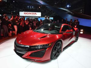 Acura's unveiling of NSX mid-engine supercar