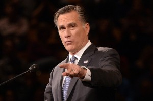 Former Republican presidential candidate Mitt Romney told donors on Friday that he is considering running in 2016