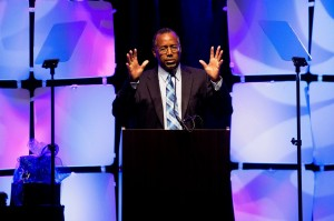 Dr. Ben Carson discusses U.S. political climate in Austin, Texas. Mr. Carson is considering a 2016 Republican presidential run.