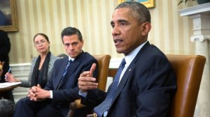President Barack Obama and President Enrique Peña Nieto