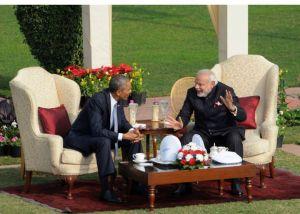 President Obama & Prime Minister Narendra Modi