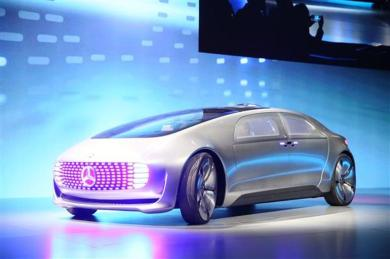 Mercedes-Benz's F015 concept vehicle