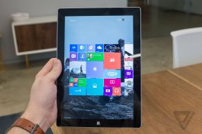 Microsoft Surface 3 as a Tablet [Image Courtesy of theverge.com]