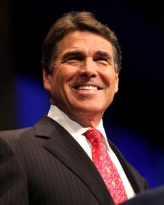 Presidential candidate Rick Perry