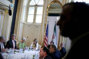 U.S. Secretary of State John Kerry met with Iranian delegation